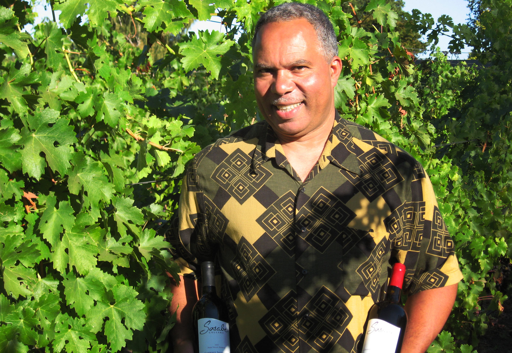Nuias DePina of Sosabe Cellars